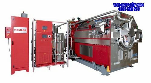 Máy giặt sấy công nghiệp cho trung tâm y tế Quảng Ninh