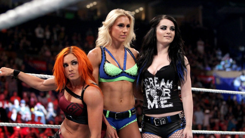 PCB Paige Becky Charlotte WWE Power Rankings Wrestling