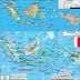 Peta Negara Indonesia Lengkap dengan Kota, Sumber Daya Alam, Batas Wilayah dan Keterangan Gambar Lainnya