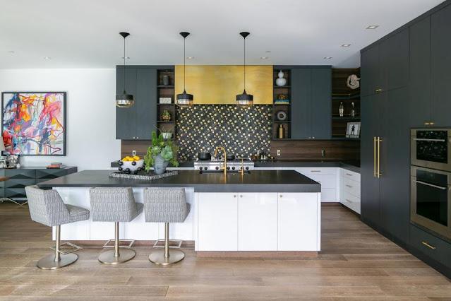 ห้องครัวโทนสี Back-White