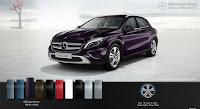 Mercedes GLA 200 2017 màu Tím Northern Lights 592