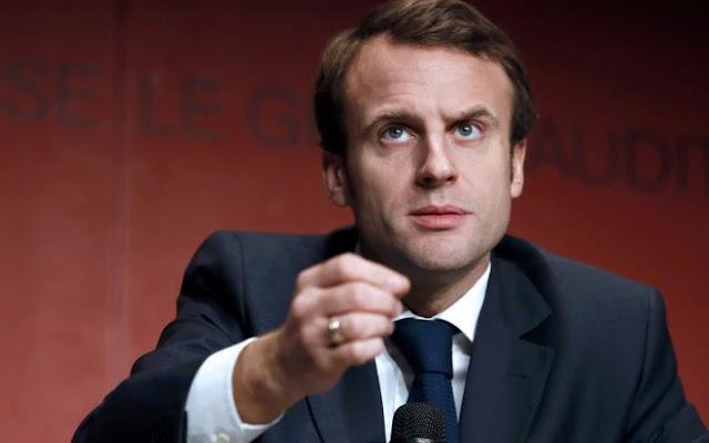 الرئيس الفرنسي ماكرون يحث شركات التصالات على توفير أنترنيت عالية السرعة بحلول عام 2020