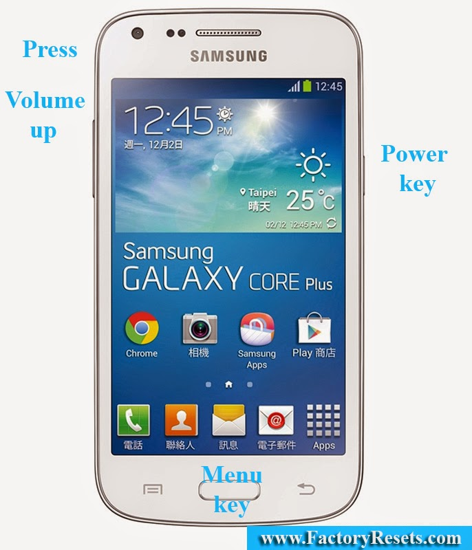Hard Reset Samsung Galaxy Star 2 Plus SM-G350E
