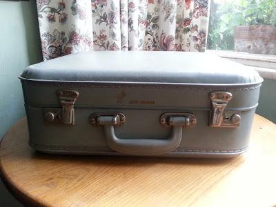 1960s Air India Vanity Case