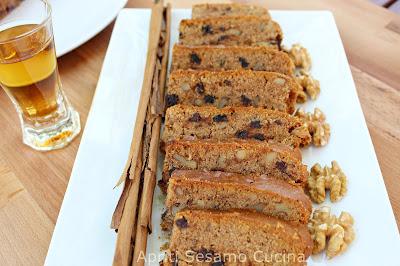 Fanouropita. Torta vegana tradizionale della cucina greca. Qui anche senza glutine