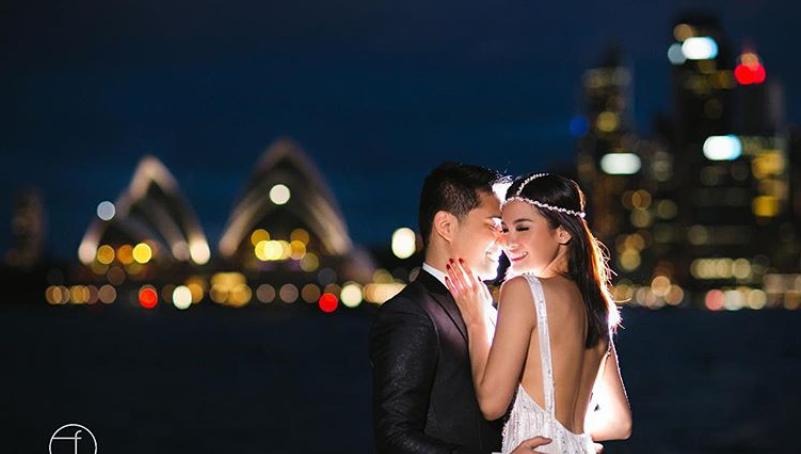 Acha Septriarasa dan Vicky Kharisma's Pre Wedding