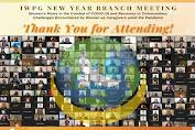 Cabang IWPG secara Kolaboratif Menyelenggarakan Pertemuan Tahun Baru Online