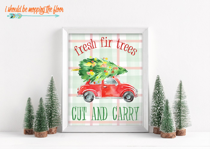Cut and Carry Tree Printables