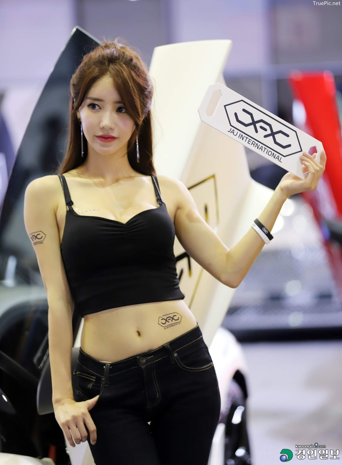 Korean Racing Model - Im Sola - Seoul Auto Salon 2019 - Picture 7