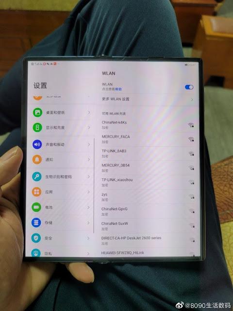 تسريب صورة Huawei Mate X2