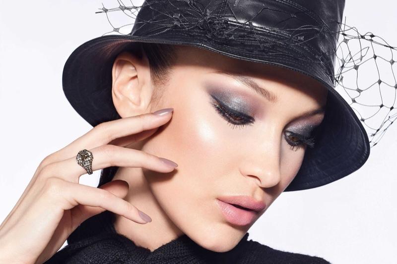 Bella Hadid stars in Dior Diorshow 2020 makeup campaign.