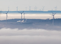Wind Farm (Photograph Credit:  Frank Rumpenhorst | Getty) Click to Enlarge.