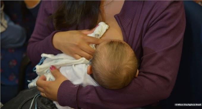 Lançada campanha de valorização do aleitamento materno