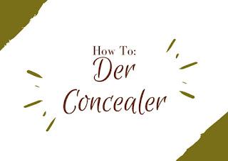 """""""Concealer""""/"""