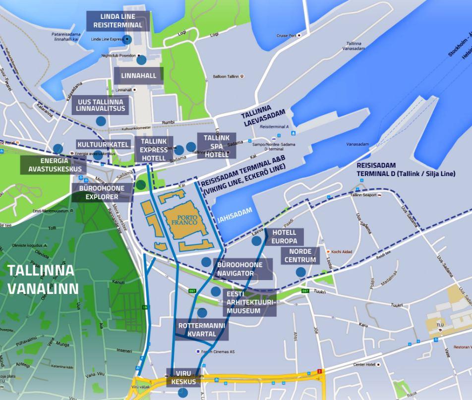 Tallinnan Satamaan Prisma Vuoden 2018 Alussa Tallinna Tutuksi
