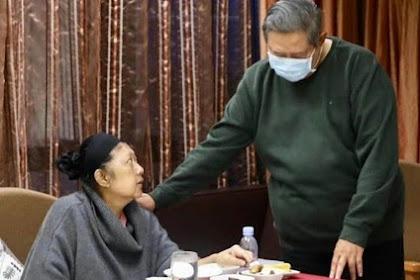 Innalillah, Ibuk Ani Yudhoyono Peurumoh SBY, Ka Geutinggai Geutanyoe