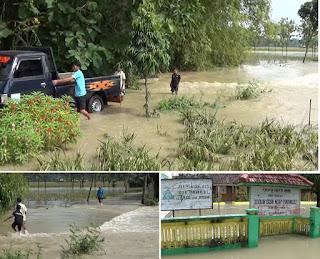 Banjir Bandang Terjang Dua Desa di Jombang, Putus Akses Jalan dan Rendam Pemukiman