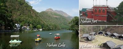Nahan tourist Destination