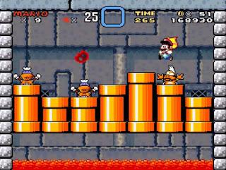 Super Mario World Tercer Castillo