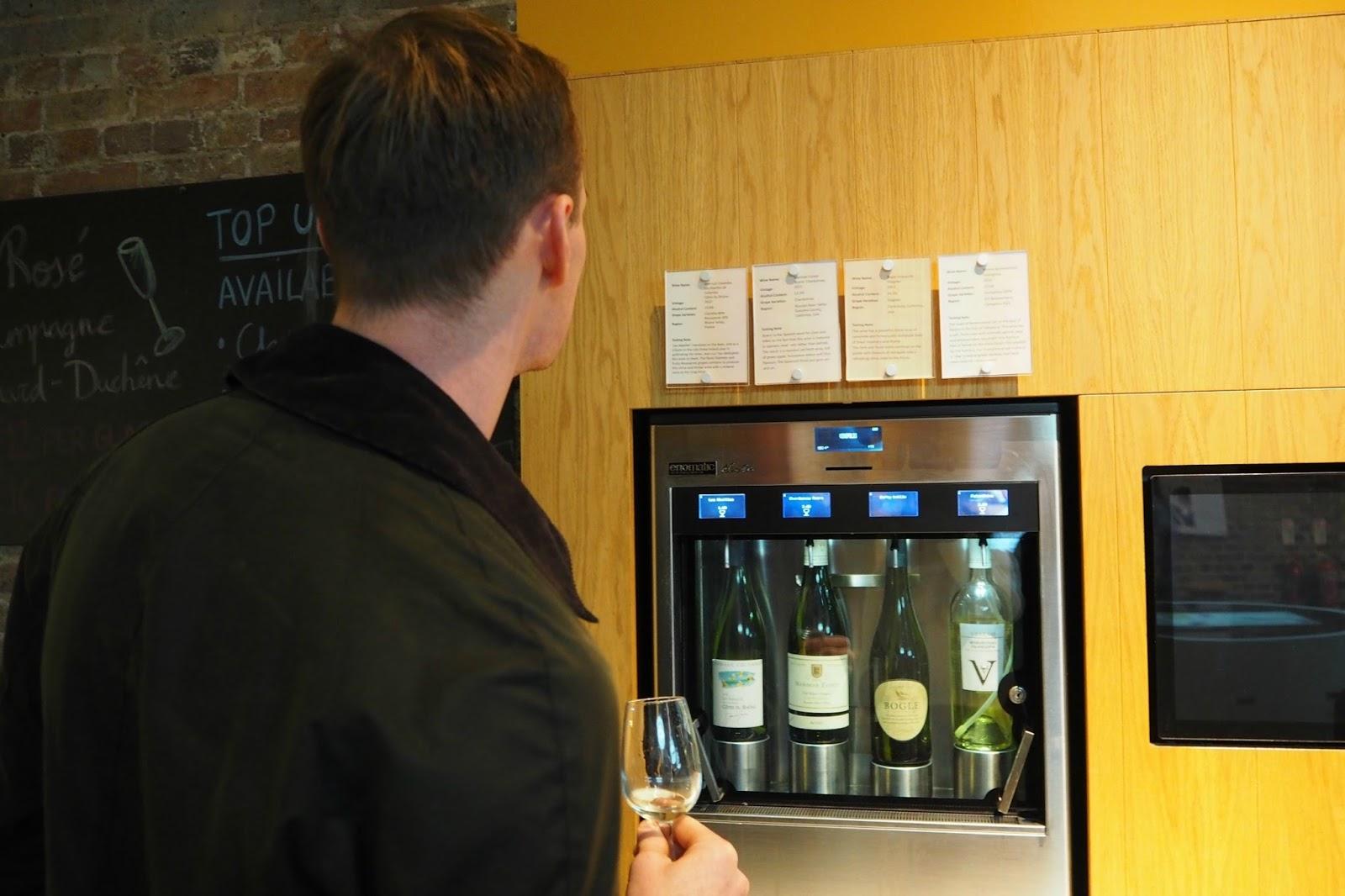 Wine tasting venue