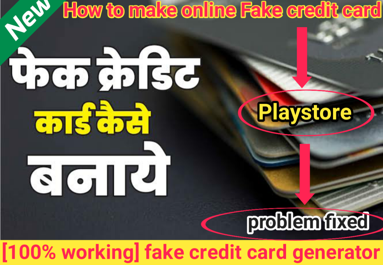 Make credit card online