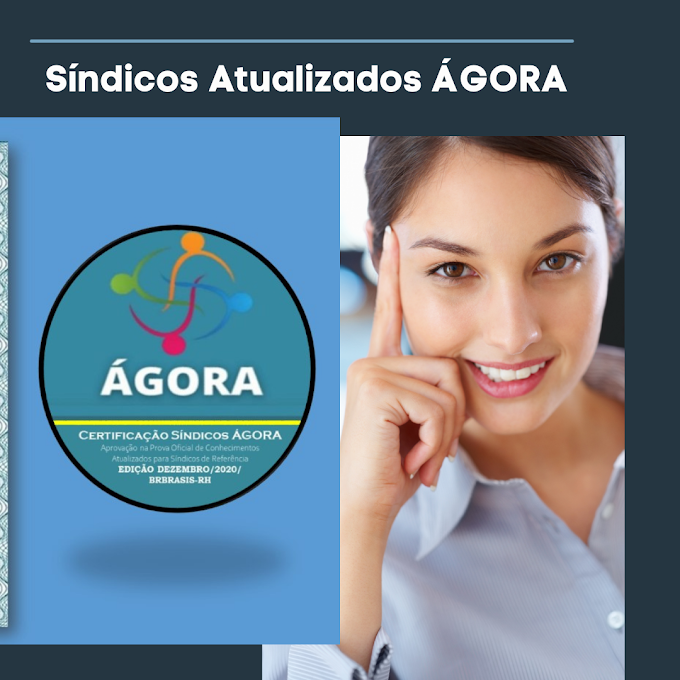 Revista do Síndico Certificado ÁGORA