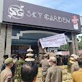 Demo Batal,Sky Garden Resmi Ditutup Pemkab Deli Serdang
