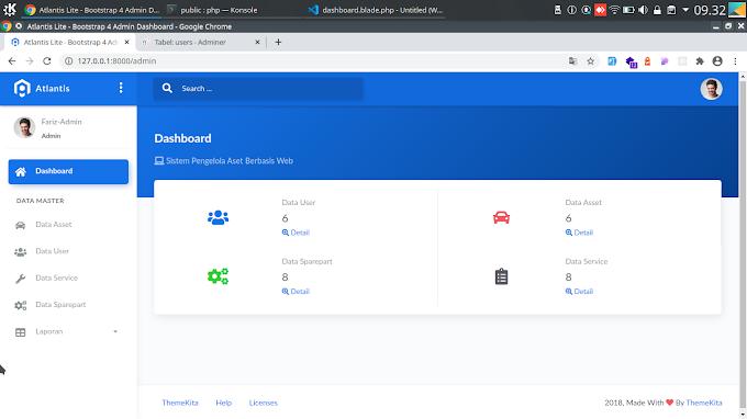 Aplikasi Sistem Informasi Manajemen Aplikasi Aset Menggunakan Framework Laravel