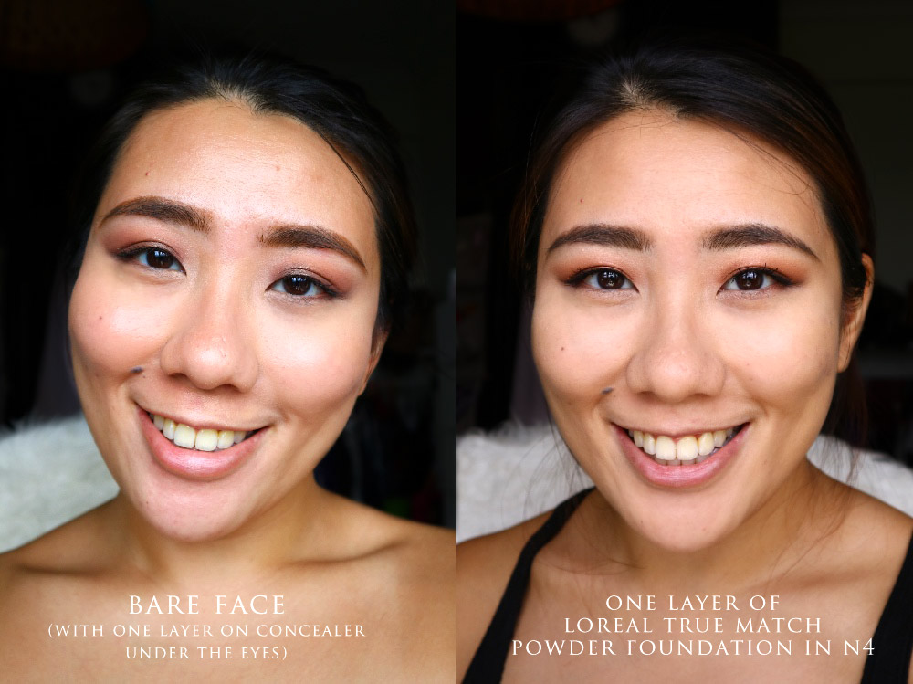 Loreal Paris True Match Powder Foundation Review Singapore