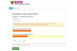 Susahnya pendaftaran akun sscn tahun 2018