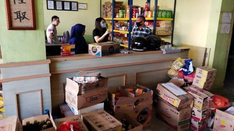 Cegah Peredaran Barang Kadaluarsa & Kelangkan Bahan Baku di Bulan Ramadhan, Reskrim Polsek Balai Karimun Cek Stok di Gudang