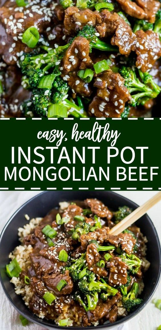Healthy And Tasty Instant Pot Mongolian Beef