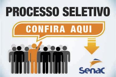 Resultado de imagem para Senac-RN abre processo seletivo para contratação de profissionais