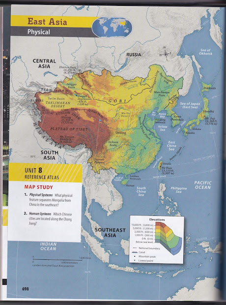Physical Feature Map Of China.20 Asia Physical Features Diorama Pictures And Ideas On Meta Networks