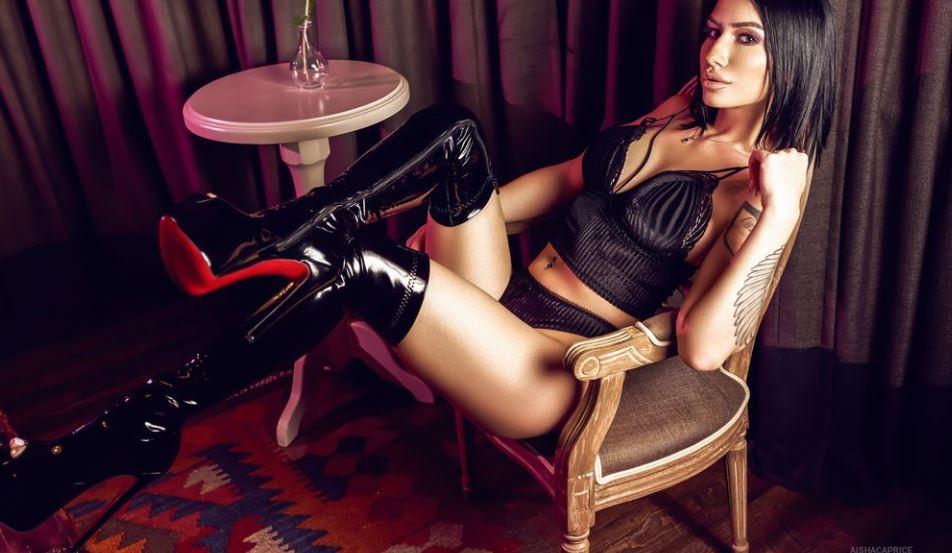 AishaCaprice Model GlamourCams