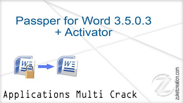 Passper for Word 3.5.0.3 + Activator