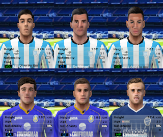 PES 6 Facepack Liga Argentina v3 2018/2019 by Cuervo96