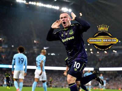Bersama Everton, Rooney Berhasil Mencetak Gol Penyeimbang City