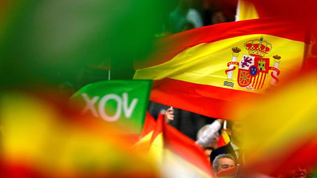 Youtube cierra el canal del partido de extrema derecha español Vox