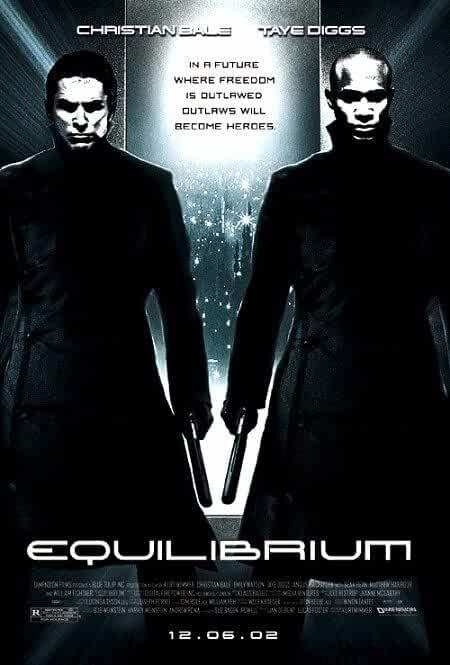 Equilibrium 2002 480p 300MB BRRip Dual Audio