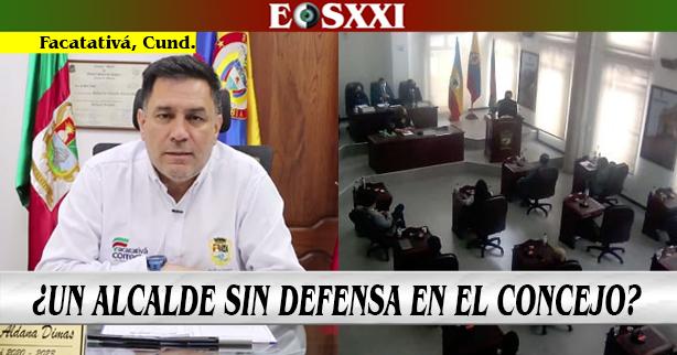 Alcalde Aldana: Sin informes y alejado del Concejo