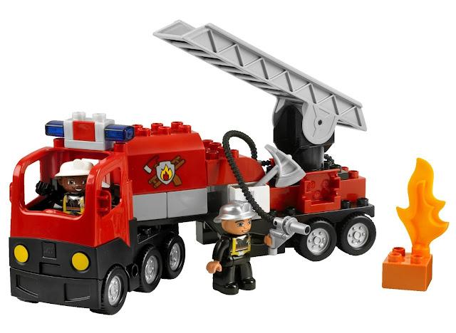 lego duplo legoville fire truck 4977 lego duplo legoville fire truck 4977. Black Bedroom Furniture Sets. Home Design Ideas