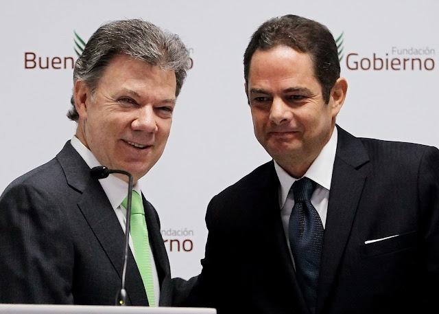 Juan Manuel Santos, Germán Vargas Lleras, Todas Las Sombras, Vargas Lleras el Oportunista. Fuente: https://todaslassombras.blogspot.com.co/2016/10/vargas-lleras-el-oportunista.html