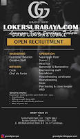 Open Recruitment at Grand Gion SPA and Lounge Surabaya November 2019