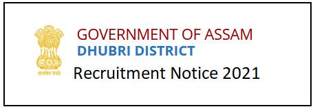 Block Level Facilitator Recruitment in Dhubri Assam
