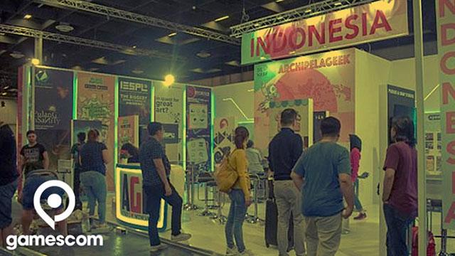 Paviliun Indonesia di Gamescom 2019