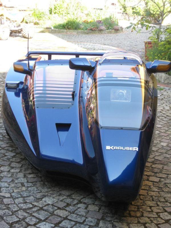 1991 Krauser Domani Sidecar Time Machine