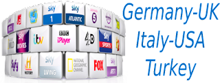 SKY Germany RTL USA TSN Italia UK Turkey