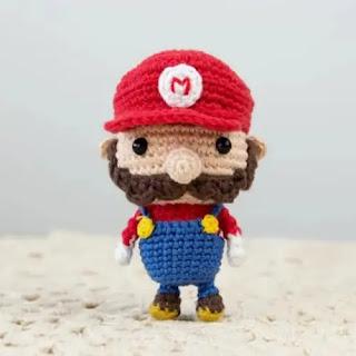 Amigurumi Mario Bross a Crochet