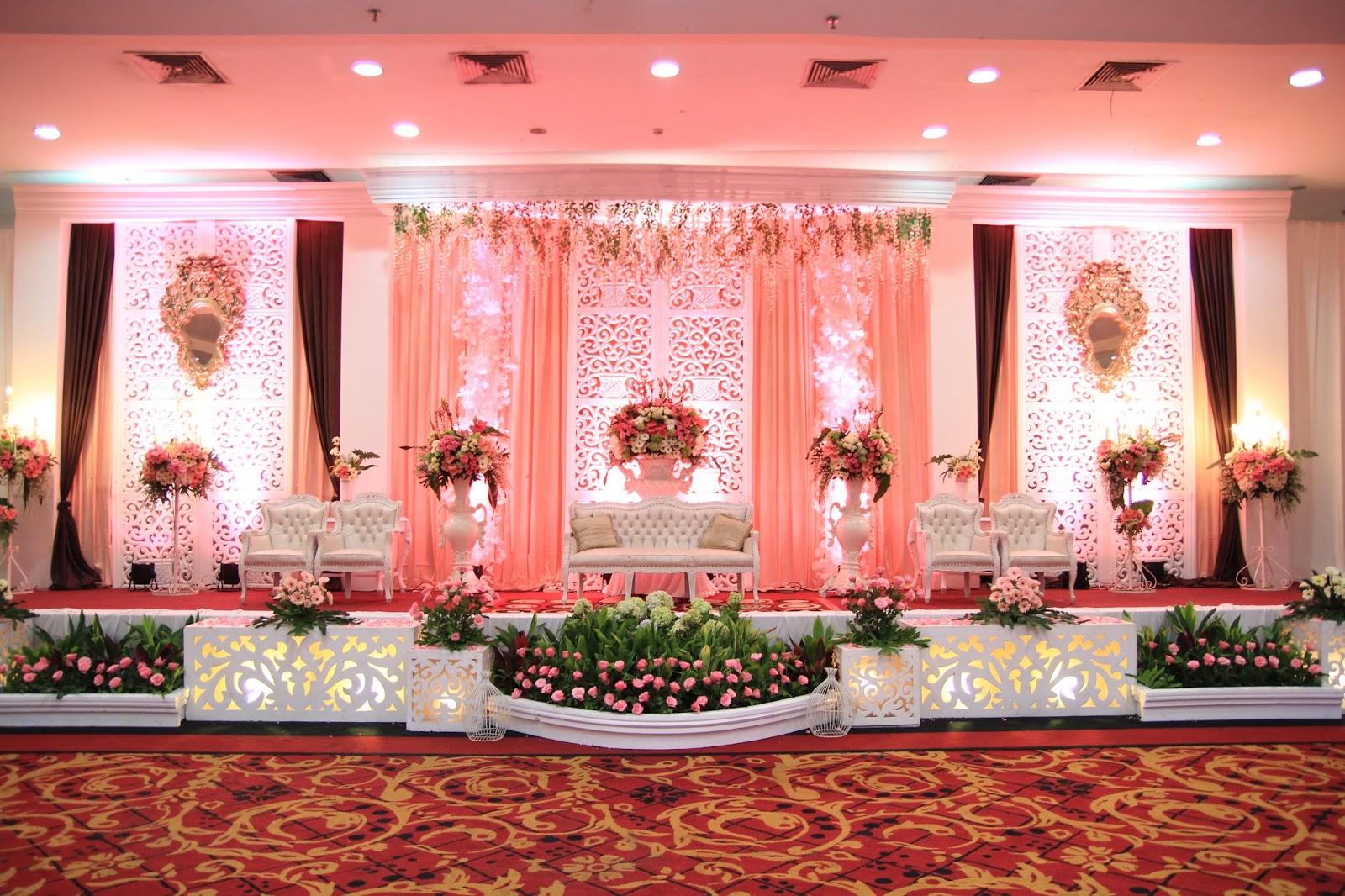 inspirasi dekorasi pengantin dengan